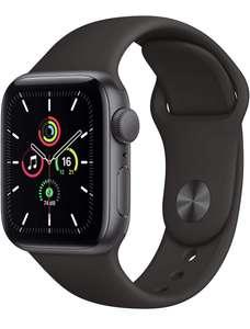 Montre connectée Apple Watch SE GPS - 40 mm, Bracelet sport, Plusieurs coloris (Via coupon)