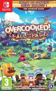 Jeu Overcooked! All You Can Eat sur Nintendo Switch