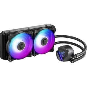 Kit Watercooling processeur AIO MSI Mag CoreLiquid 240R RGB (Via ODR de 10€)