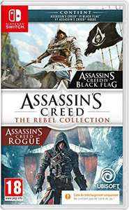 Jeu Assassin's Creed : The Rebel Collection sur Nintendo Switch (Code in a Box)
