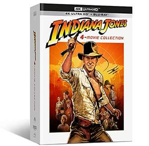 Coffret Blu-ray UHD 4K Indiana Jones - 4 films