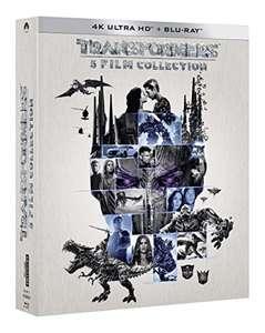 Coffret Blu-ray UHD 4K Transformers - 5 films