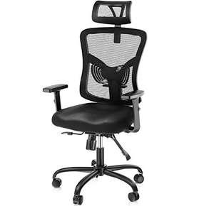 Fauteuil de bureau ergonomique Noblewell - Charge 135Kg (Vendeur Tiers)