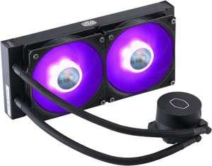 Kit de watercooling PC CoolerMaster MasterLiquid ML240L V2 RGB - 240 mm