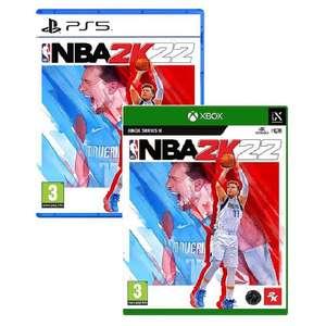[Précommande] Jeu NBA 2K22 sur PS5 & Xbox Series (+ bonus de précommande)