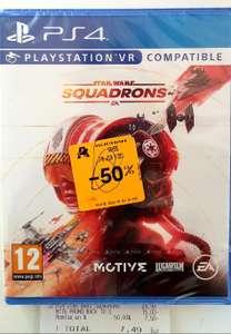Star Wars: Squadrons sur PS4 - Grasse (06)