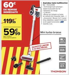 Aspirateur balai Thomson THVC2315FE - 150W