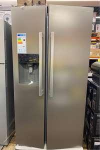 Réfrigérateur américain Schneider SCUS465IDNFX - Réfrigérateur : 334 L, Congélateur : 156 L, A+ (Retrait magasin participants)