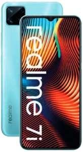 """Smartphone 6.5"""" Realme 7i - Helio G85, 64 Go, 4 Go de RAM, 6000 mAh, 48 Mpix, bleu (via 84.95 € sur la Carte de Fidélité) - Lyon (69)"""