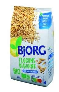 Le sachet de Flocons d'Avoine Bio Bjorg Biologique 500g (Magasins Participants)