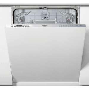 Lave-vaisselle tout intégrable HOTPOINT HI5030W - Largeur 60 cm, 43 db, 14 couverts
