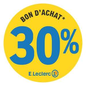 30% remboursés en bon d'achat sur l'électroménager, fournitures scolaires, informatique, manège à bijoux & traiteur à la coupe - Orly (94)