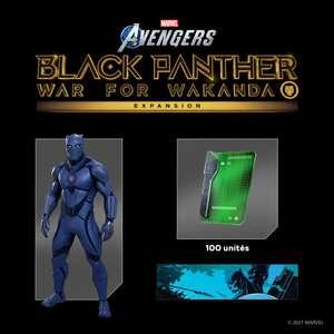 [PS+] Pack Black Panther pour Marvel's Avengers offert sur PS4 (Dématérialisé)