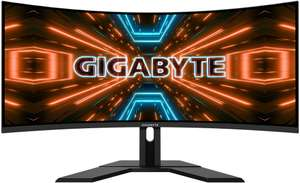 """Écran PC incurvé 34"""" GigaByte G34WQC - QHD, LED VA, 144 Hz, 1 ms"""