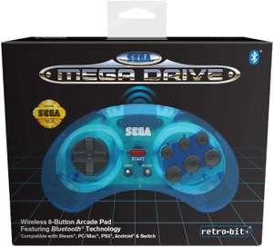 Sélection de produits en promotion - Ex: Manette Bluetooth Retro Bit Sega Mega Drive - 8 boutons, bleu clair