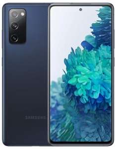 """Smartphone 6.5"""" Samsung Galaxy S20 FE 5G (FHD+, SnapDragon 865, 8Go RAM, 256Go, bleu) + 80€ d'accessoires offerts parmi une sélection"""
