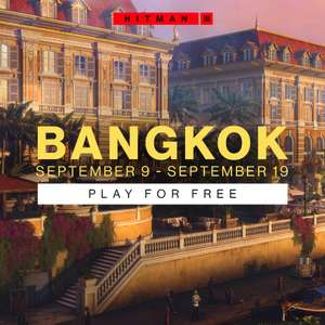 Hitman 3 Bangkok jouable gratuitement sur PC et consoles (dématérialisé)