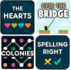 4 Jeux Android Gratuits par LittleBigPlay - Ex: Over The Bridge Pro