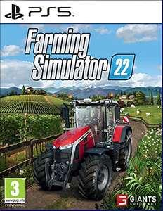 Précommande : Jeu Farming Simulator 2022 sur PS5