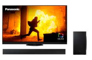 "Pack TV OLED 65"" Panasonic TX-65HZ1500E - 4K UHD, HDR, Smart TV + Barre de son 2.1 Samsung HW-T420 - 150 W, Bluetooth (via ODR de 20€)"