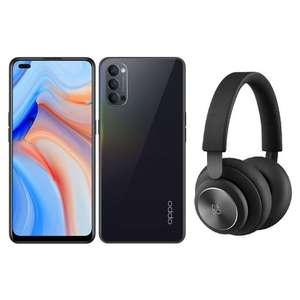 "Smartphone 6.4"" Oppo Reno 4 5G (8 Go RAM, 128 Go) + Casque sans fil Bang&Olufsen Beoplay H4"