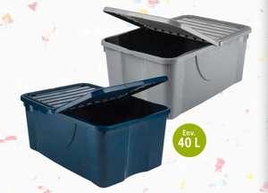 Boîte de rangement en plastique recyclé - 40L