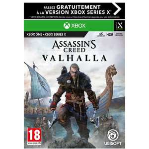 Jeu Assassin's Creed Valhalla sur Xbox Series / One