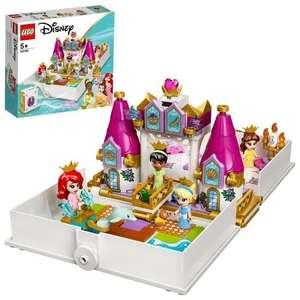 Jouet Lego 43193 Les aventures d'Ariel, Belle, Cendrillon et Tiana dans un livre de contes