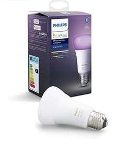 Ampoule LED Connectée Philips Hue White & Color Ambiance E27 Compatible Bluetooth, Fonctionne avec Alexa (Occasion - Comme neuf)