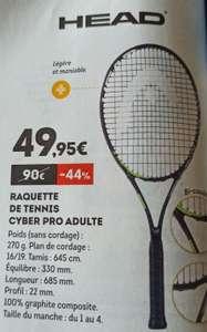 Raquette de Tennis Head Cyber Pro Adulte - 270g, Taille 1 à 4 - Nevers (58)