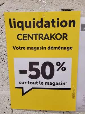 50% de réduction sur tout le magasin - Nantes (44)