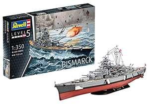 Maquette Cuirassé Bismarck Revell 05040 - Echelle 1:350