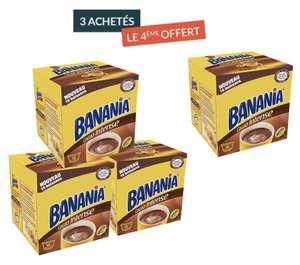 Lot de 4 boîtes de capsules Banania Cacao Intense pour Nescafe Dolce Gusto