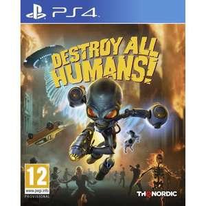 Destroy All Human ! sur PS4