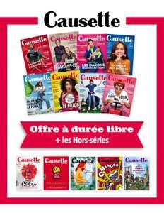 Abonnement 1 an au magazine Causette (sans engagement) - causette.fr