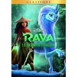 DVD Disney Raya et le Dernier Dragon (ou Blu-Ray à 15.99€)