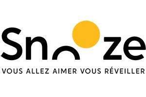 Bon d'achat de 20€ pour 10€ sur le site Snooze