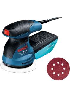 Ponceuse excentrique Bosch Professional GEX 125-1 AE - 250W, diamètre 125 mm (Occasion - Comme neuf)