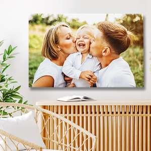Sélection de photos sur toile en promotion à partir de 13,04€ + livraison gratuite à domicile sans minimum d'achat - Ex : Toile 60 x 40 cm