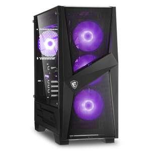 PC Fixe Gamer King - Ryzen 5 3600, RTX 3060Ti (8Go), 16Go RAM (3600 Mhz), 512 Go SSD Nvme, MSI B450 Tomahawk Max, Alim. Bequiet! 600W