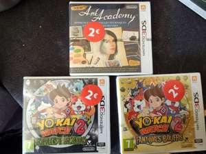 Yo-Kai Watch 2 : Fantômes Bouffis (ou Esprits Farceurs) sur Nintendo 3DS (La Roche-sur-Yon 85)