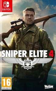 Sniper Elite 4 sur Nintendo Switch