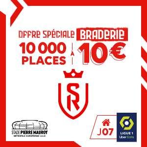 Billet pour le match de football LOSC - Stade de Reims le 22/09/21 à 19h00 (Stade Pierre Mauroy 59)