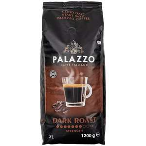 Paquet de Grains de café Palazzo Dark Roast - 1,2kg