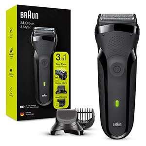 Rasoir électrique barbe Braun Series 3 Shave&Style 300BT