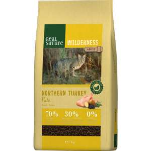 Sac de croquettes pour chat Real Nature Wilderness Northern Turkey Adult - 7 kg