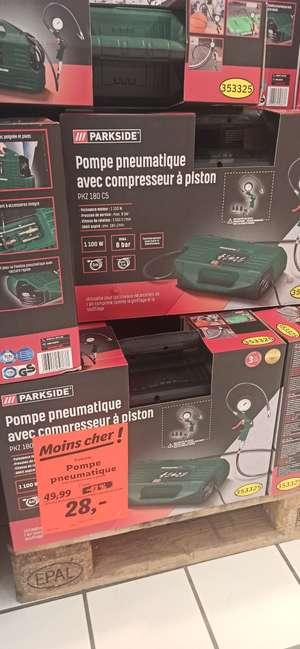 Sélection de produits en Promotion sur l'Électroménager & le Bricolage; Ex : Pompe Pneumatique ParkSide à 28€ - Brie-Comté-Robert (77)