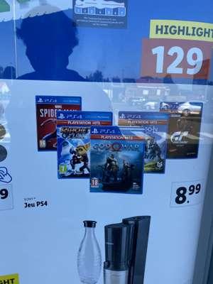 Sélection de jeux PS4 a 8,99€ (Frontaliers Belgique)