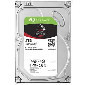 """Disque dur interne 3.5"""" Seagate IronWolf NAS (ST3000VN007) - 3 To"""