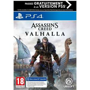 Assassin's Creed Valhalla sur PS4/Xbox One (+ Upgrade PS5 / Xbox Series)